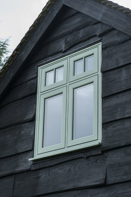 Cream Windows Exterior